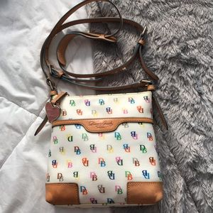 Dooney and Bourke colorful crossbody